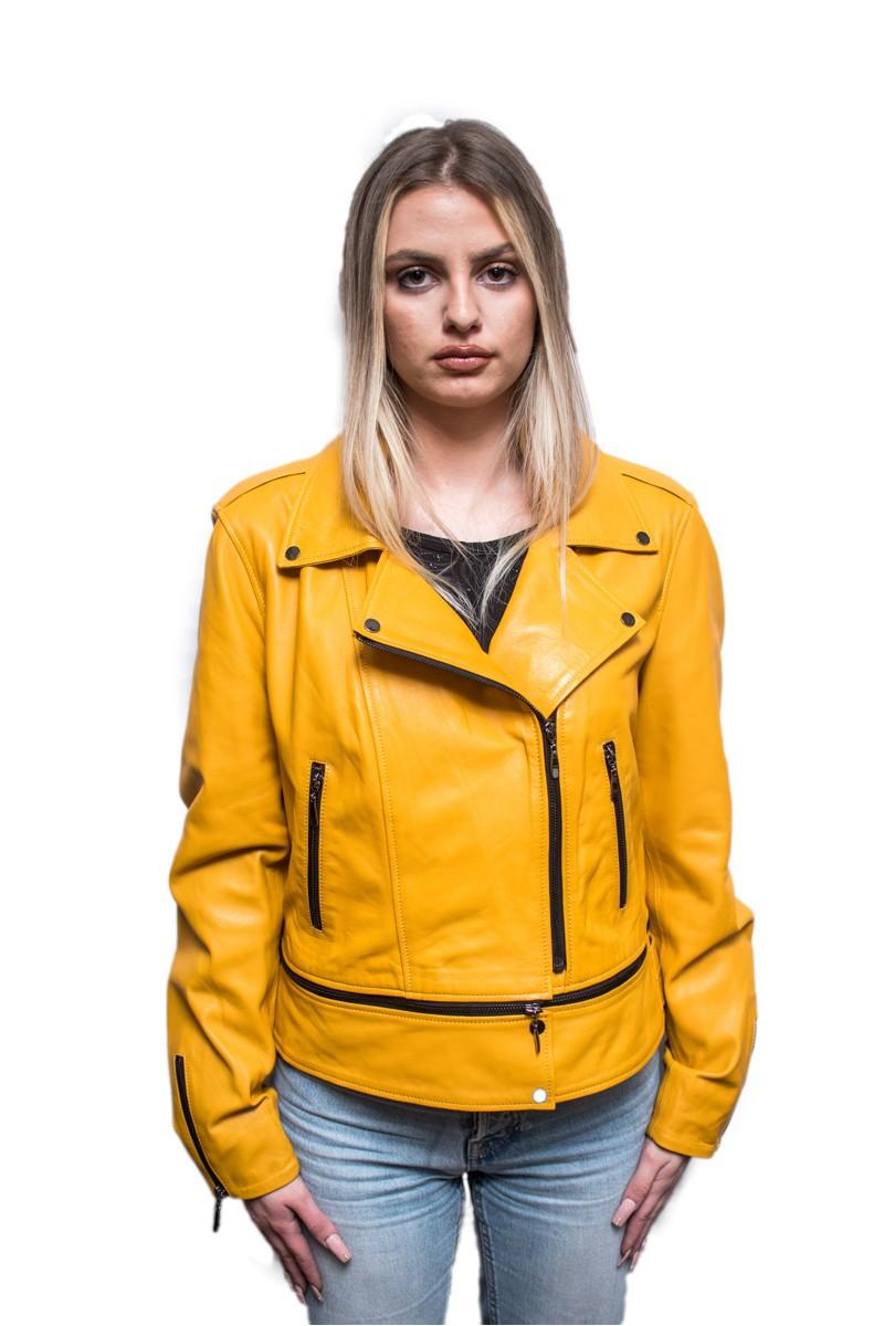 #825 Δερμάτινο Jacket