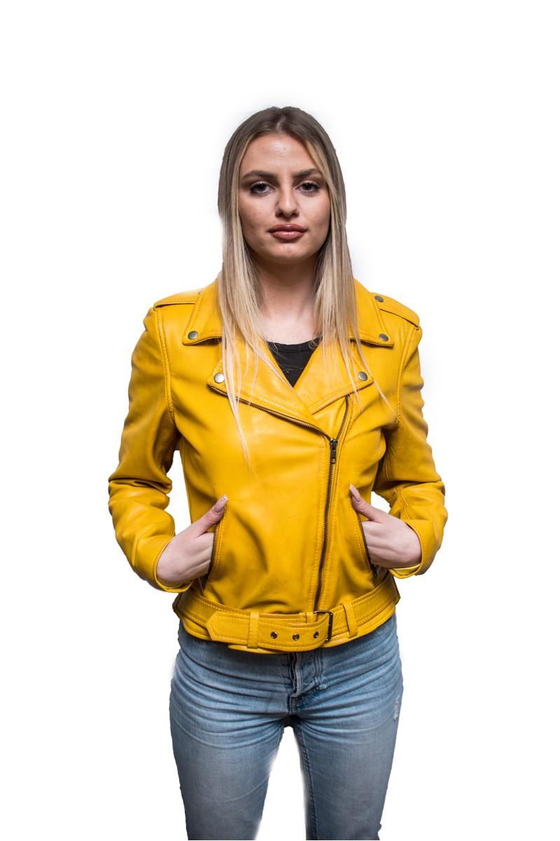 #826 Δερμάτινο Jacket