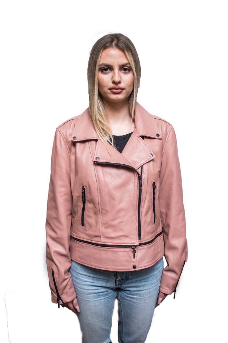 #822 Δερμάτινο Jacket