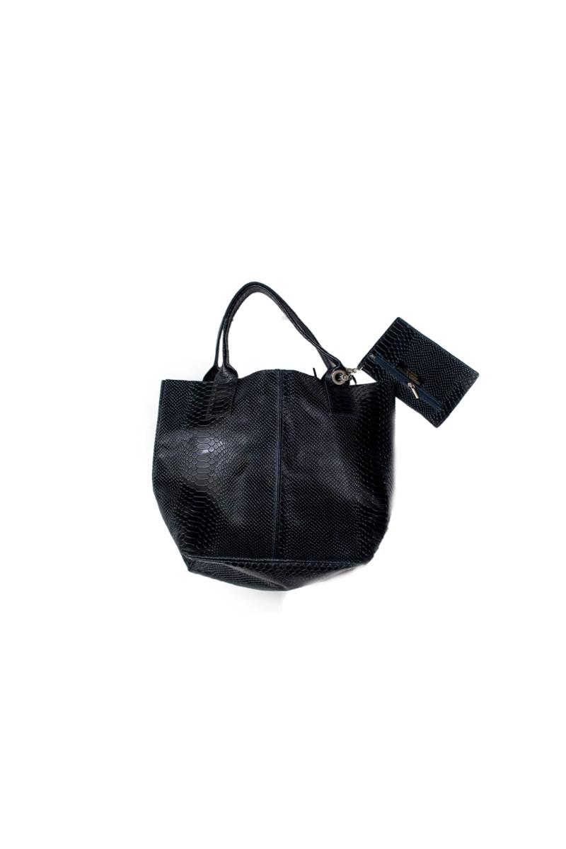 #798 Δερμάτινη Τσάντα Ώμου